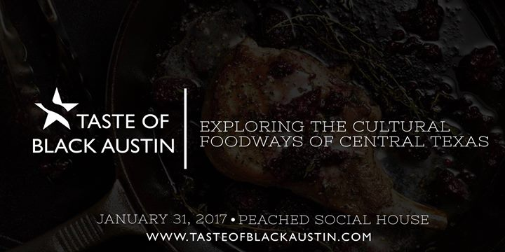 Taste of Black Austin Flyer